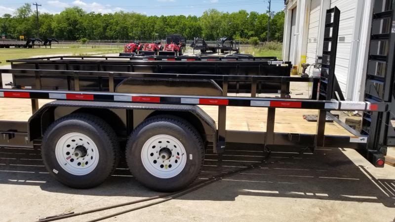 2017 Top Hat Trailers 20' x 7'  HH 14k Utility TH-49