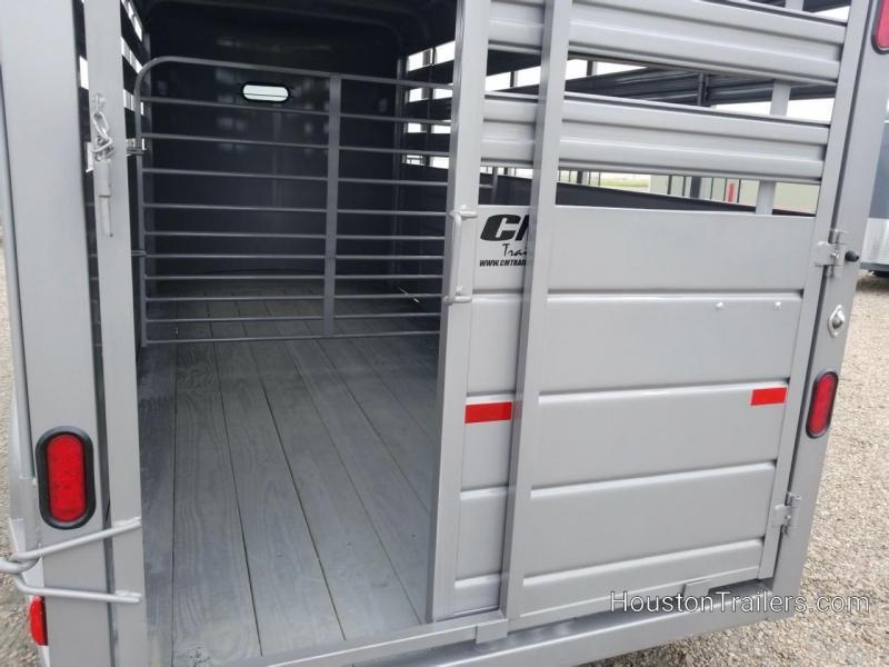 2019 CM Stocker 16' x 6' Livestock Trailer CM-55