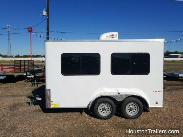 2018 Cargo Mate 7' x 12' Office Enclosed Cargo Trailer FR-40