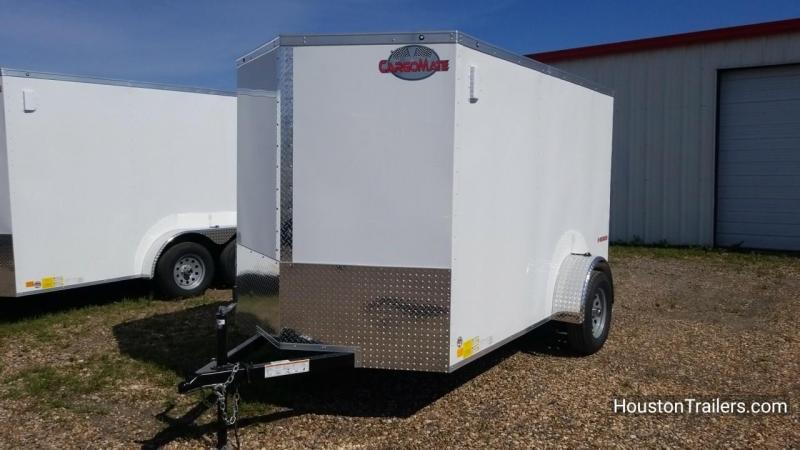2018 Cargo Mate 6' x 10' Enclosed Cargo Trailer FR-49