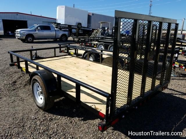"""2018 Big Tex Trailers 35SA 77"""" x 12' Utility Trailer BX-133"""