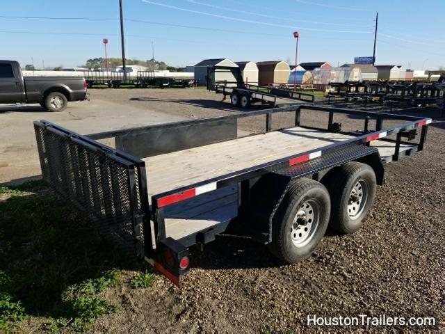 2015 Ranch King Trailer Amer 14' Utility Trailer 8051