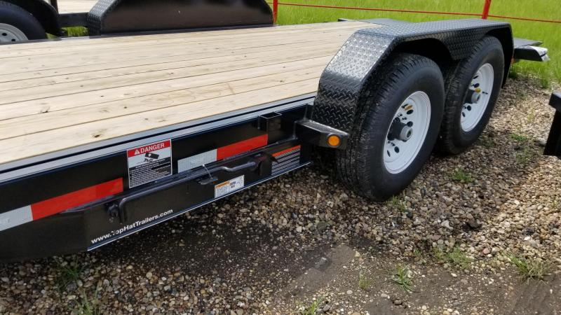 2017 Top Hat Trailers TDS 20' x 7' Utility 14k TH-58
