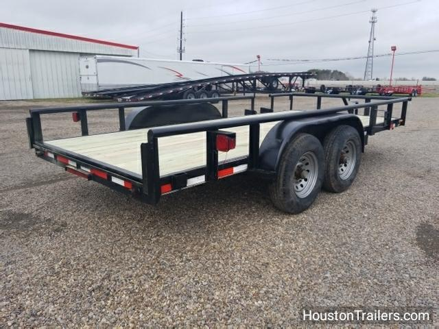 2007 Performance Trailers 16' HH Utility Trailer 8041