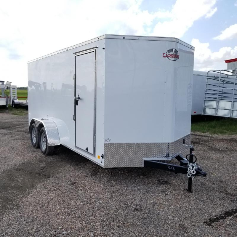 2018 Cargo Mate Trailers 7' x 16' Enclosed Cargo Trailer FR-29