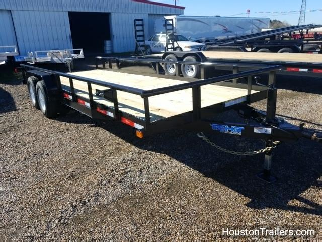2018 Top Hat Trailers 20' x 7' Utility Trailer TH-110