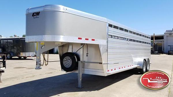 2017 CM Trailers 24' Roundup AL Livestock / Cattle CM-11