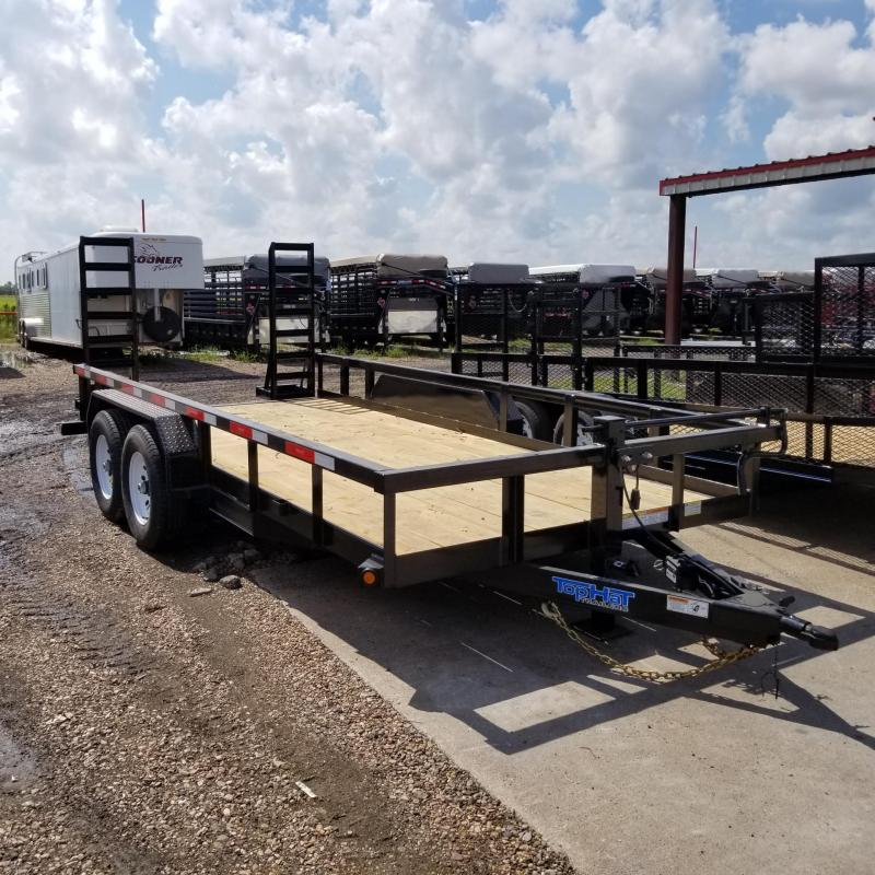 2018 Top Hat Trailers 16' x 7' LH Utility 10k Trailer TH-87