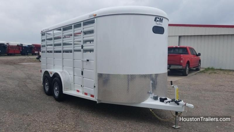 2018 CM 16' Stocker Livestock Trailer With Reap Ramp CM-49