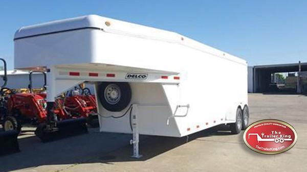 "Delco Trailers 6'8"" x 20 GN Enclosed Cargo 14k DEL-13"