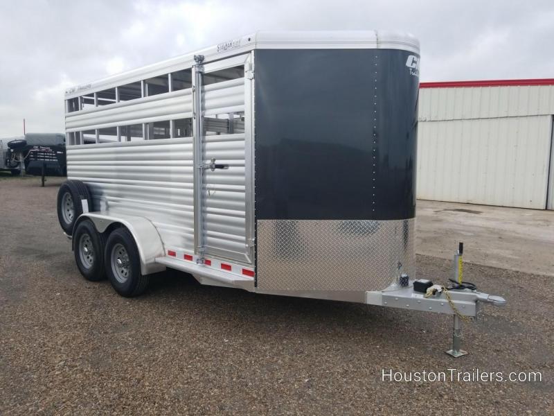 2019 CM Stocker ALV 16' Livestock Trailer CM-52