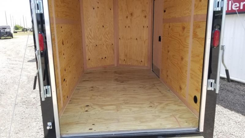 """2018 Salvation Trailers 6' x 10' x 6'8"""" Enclosed Cargo Trailer CT-5"""