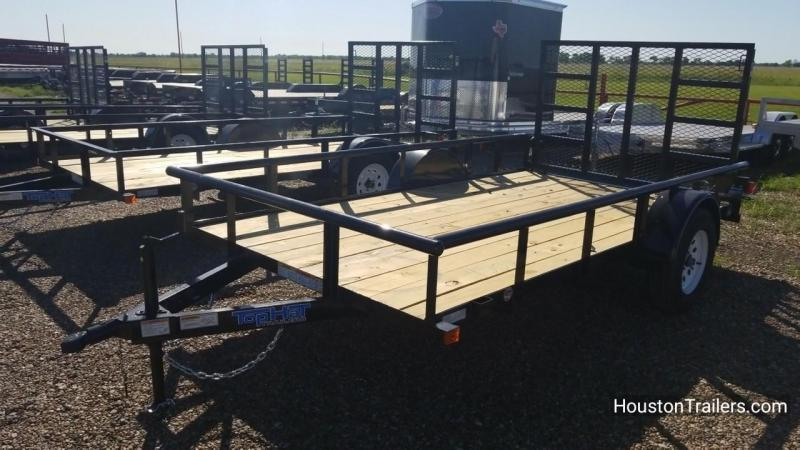 """2018 Top Hat Trailers 12' x 77"""" DSP Utility Trailer TH-130"""
