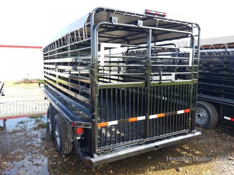 2018 Delco Trailers Bar top Livestock / Cattle Trailer DEL-35