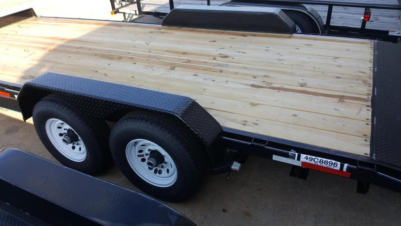 2017 Top Hat Trailers 20' x 7' EH 14k TH-29