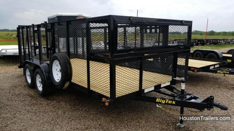 2018 Big Tex Trailers 16' 70LR Landscape Utility Trailer BX-140