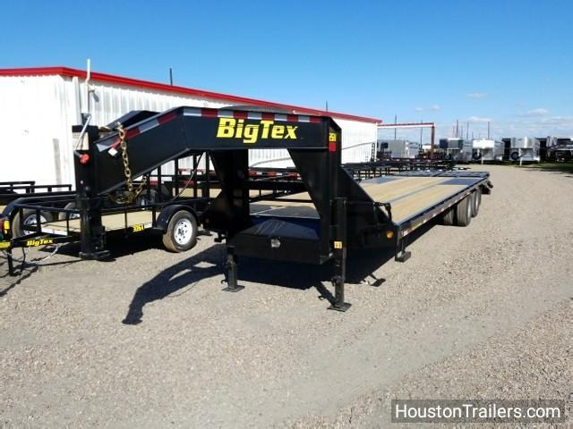 2018 Big Tex Trailers 25+5' 22GN Flatbed Trailer BX-122