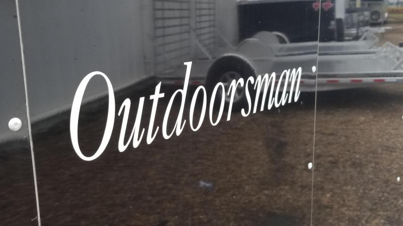 "2018 Sundowner Trailers 20' x 6'9"" OUTDOORSMAN Car / Racing Trailer SD-54"