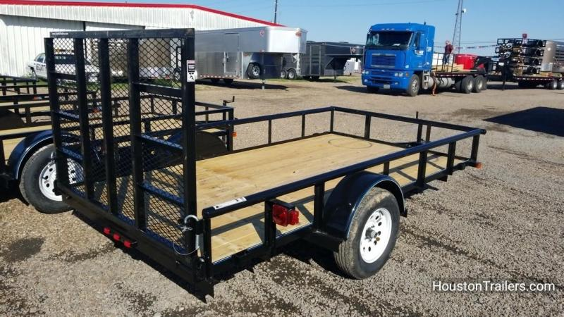 "2018 Top Hat Trailers 12' x 77"" DSP Utility Trailer TH-129"