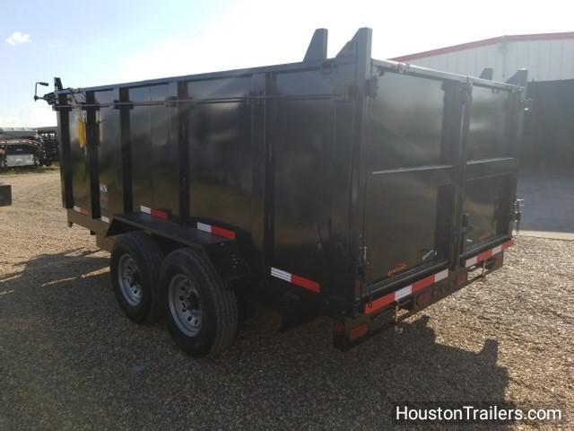 "2018 Ranch King Trailers 14' x 6'10"" Dump Trailer 14k RK-37"
