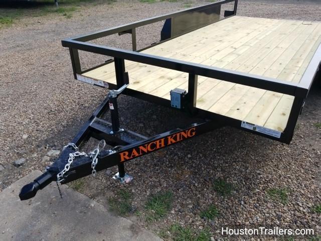 2018 Ranch King 16' Utility Trailer RK-45