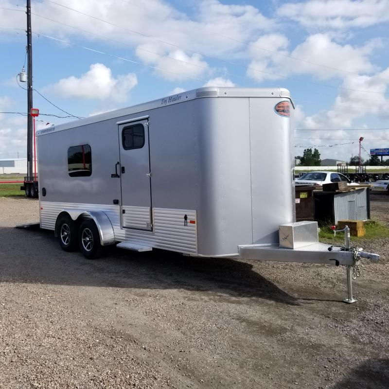 2018 Sundowner Trailers 20' Toy Hauler Enclosed Cargo Trailer SD-58