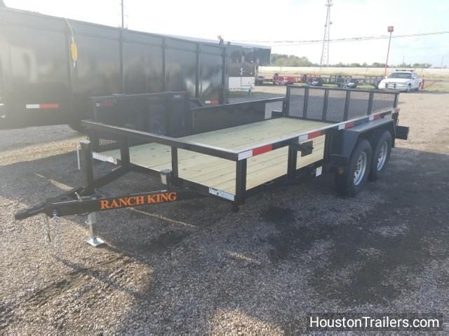 2018 Ranch King 14' Utility Trailer UTV RK-39