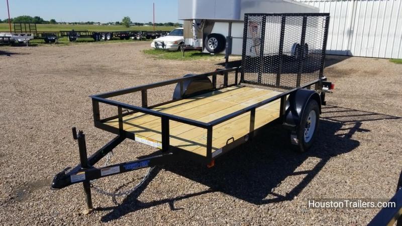 2018 Top Hat Trailers X 10' x 5' Utility Trailer TH-123