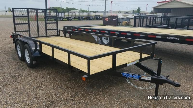 "2018 Top Hat Trailers 16' X 77"" LDT Utility Trailer TH-135"
