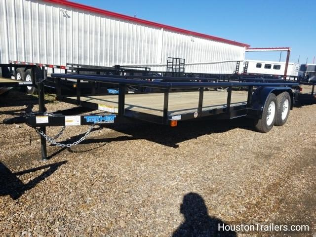 2018 Top Hat Trailers 16' x 7' MP Utility Trailer TH-114