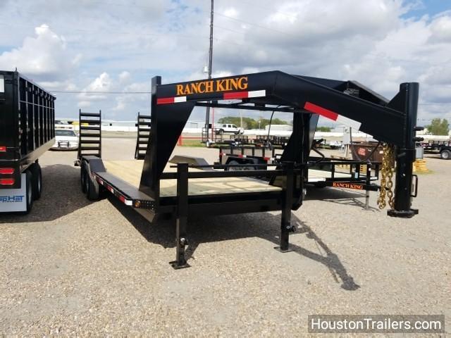 2018 Ranch King 24' Lowboy Utility Trailer RK-54