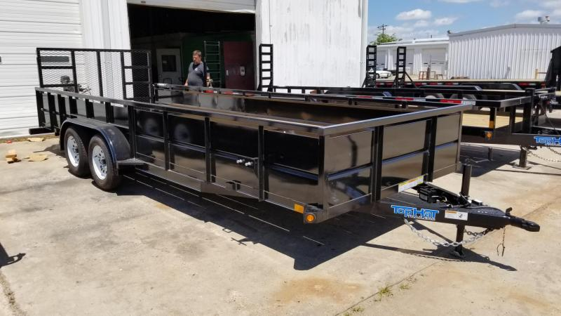 2017 Top Hat Trailers 20' x 7' RUNABOUT Landscape Utility TH-48