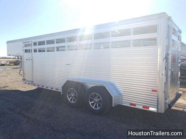 2018 Sundowner Trailers 20' Rancher Express GN Livestock Trailer SD-72