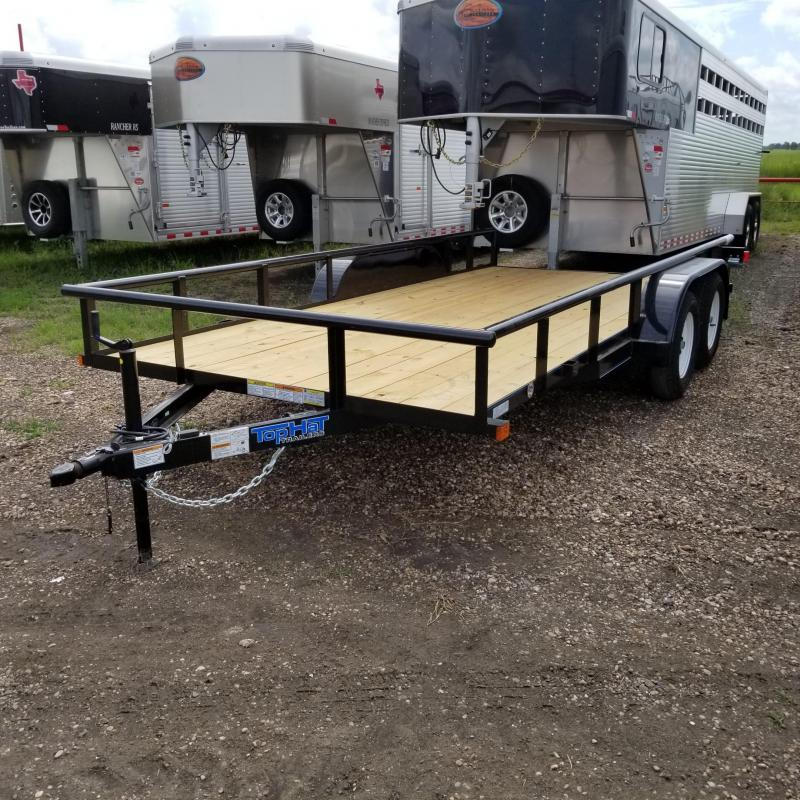 2018 Top Hat Trailers 16' x 7' MP Utility Trailer TH-99