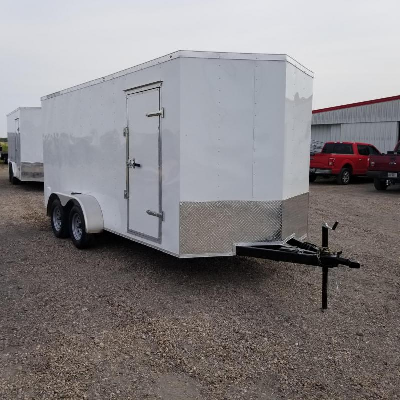 2018 Salvation Trailers 7' x 16' Enclosed Cargo Trailer CT13
