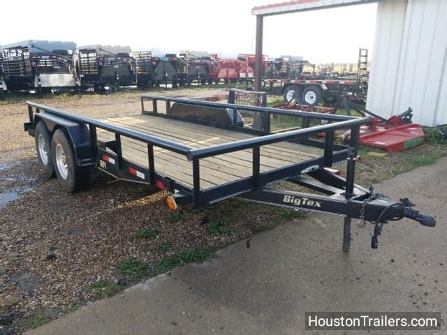 2006 Big Tex Trailers 16' 12PI Utility Trailer 8037