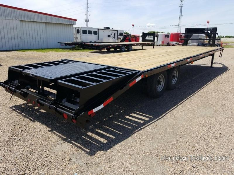2012 Texas Pride Trailers 25+5 Flatbed  Used Trailer 8054