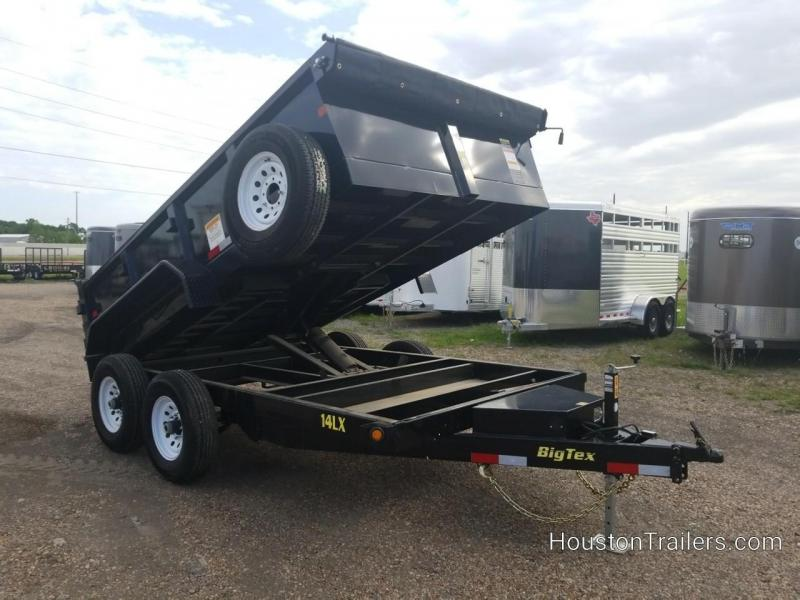 2017 Big Tex Trailers 12' 14LX Dump Trailer BX-147