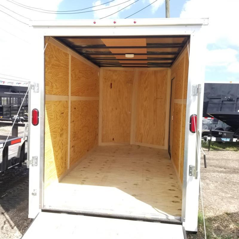 2018 Salvation Trailers 12' x 6' Enclosed Cargo Trailer CT-15