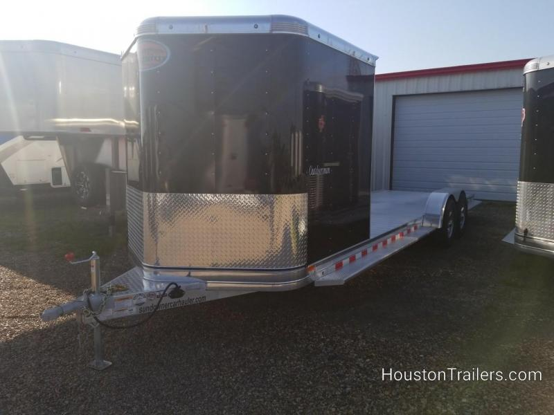 2019 Sundowner Trailers 27' Outdoorsman Car / Racing Trailer SD-81