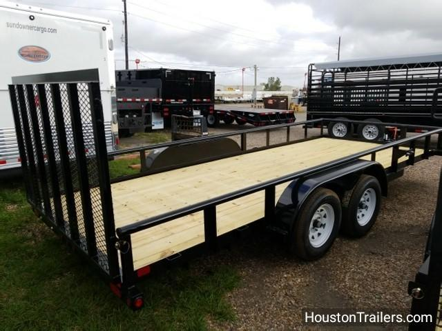"2018 Big Tex Trailers 70PI-X 18' X 83"" Utility Trailer BX-106"