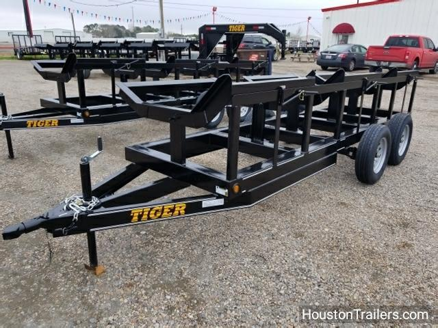 2018 Tiger 48x16 Hay 3 Bale BP Trailer TI-17
