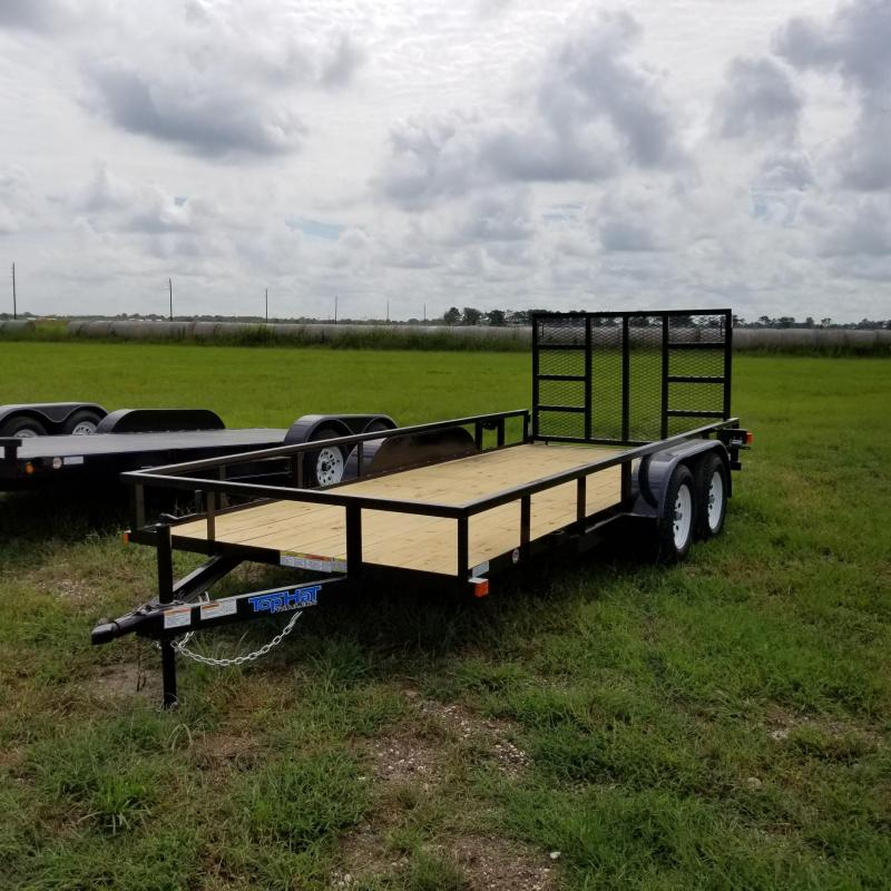 2018 Top Hat Trailers 16' x 6.5' LDT Utility Trailer TH-98