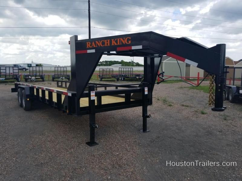 2018 Ranch King 24' Lowboy Equipment Utility Trailer RK-58