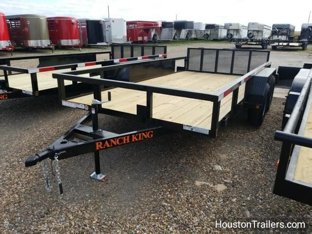 2018 Ranch King Trailers 14' Utility Trailer RK-46