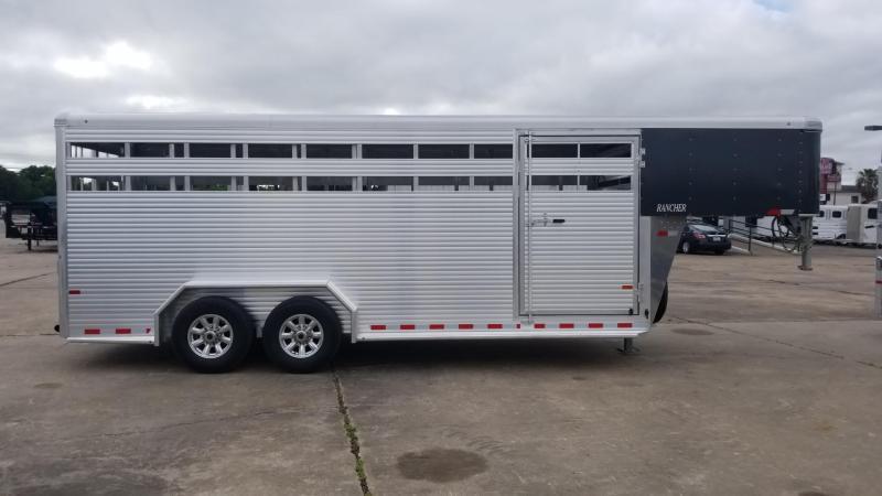 2018 Sundowner Trailers 20' GN Rancher Livestock / Cattle Trailer SD-37