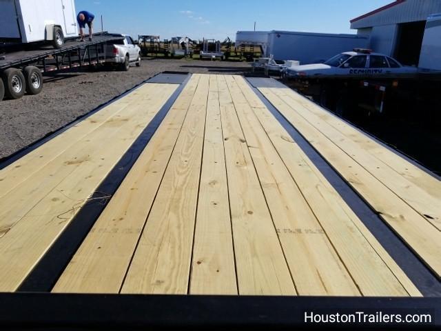 """2018 Big Tex Trailers 22GN 102"""" x 35' HD HYD Flatbed Trailer BX-134"""