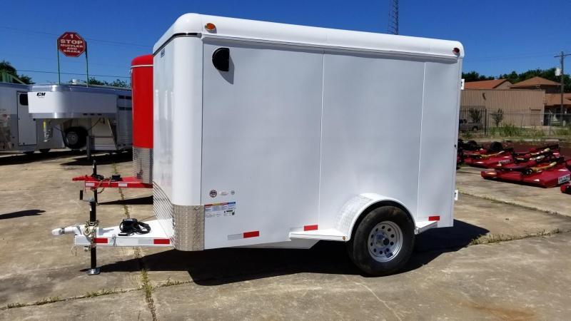 2017 Delco Trailers 6' x 10' Enclosed Cargo Trailer DEL-16