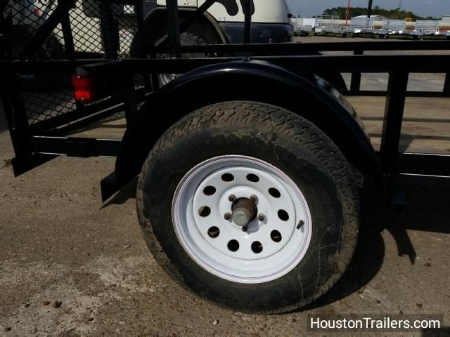 2008 Top Hat 4x8 Utility Used Trailer 8031