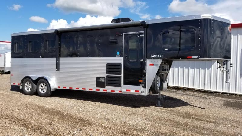 2018 Sundowner Trailers Santa Fe 7608 3 Horse LQ Trailer SD-47